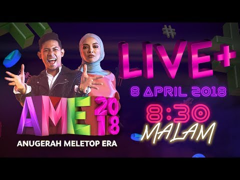[LIVE] ANUGERAH MELETOP ERA 2018 | #AME2018