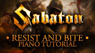 Download lagu Sabaton - Resist and Bite - Piano Tutorial