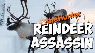 THE REINDEER ASSASSIN  - theHunter 2016 PC Gameplay w/leeroy