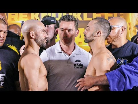 FINAL FACE OFF!  Paulie Malignaggi vs. Artem Lobov  |  Bare Knuckle Boxing
