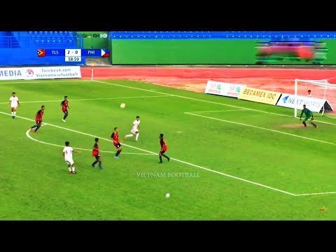 Timor Leste 5 - 2 Philippines | AFF U18 CHAMPIONSHIP 2019 FULL HD | GROUP A | 12/08/2019