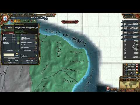 Europa Universalis IV Nations - Portugal & Colonization