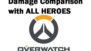 Video Overwatch - Damage comparison with ALL HEROES (How fast can you kill a Roadhog?) download MP3, 3GP, MP4, WEBM, AVI, FLV Juni 2018