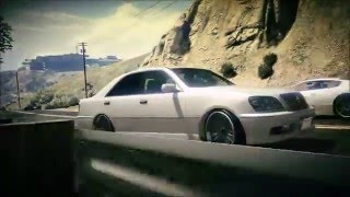 【GTA5】TOYOTA CROWN 170 実車MOD Drift PV