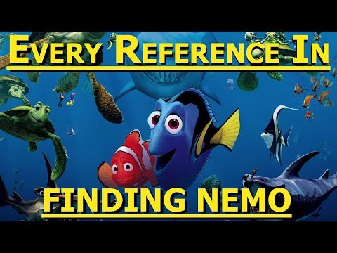 Every Reference in Finding Nemo