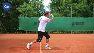 Подача и секреты приема в теннисе. Часть 6: Техника приема подачи