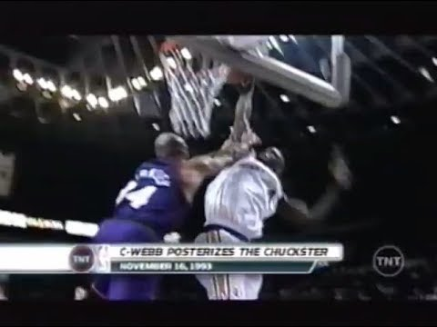 Chris Webber Makes a Commercial Out of Charles Barkley (TNT