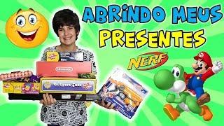 ABRINDO PRESENTES DE DIA DAS CRIANÇAS 2018 - GANHEI O NINTENDO SWITCH