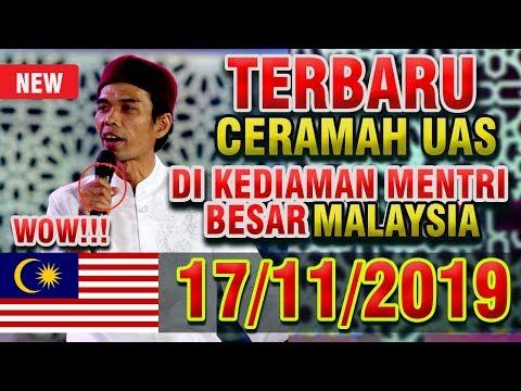 Ceramah Terbaru Ustadz Abdul Somad Di Kediaman Mentri Besar Selangor Malaysia
