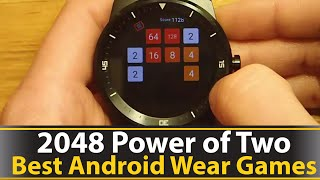 2048 Power of Two - Best Android Wear Games Series