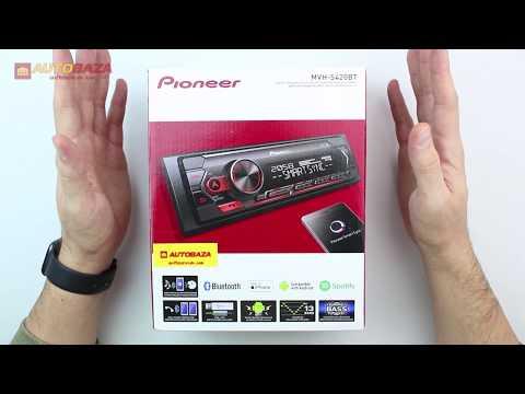 Автомагнитола Pioneer MVH-S420BT