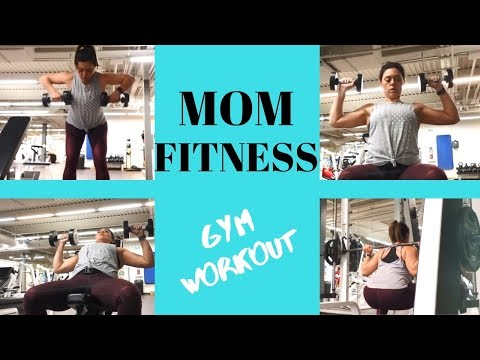 Gym Workout / Weight Loss / Quick Routine / Mom Fitness