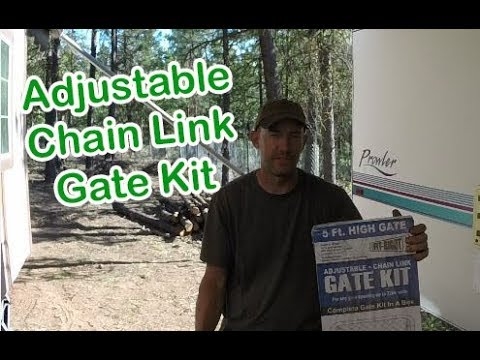Adjustable Chain Link Gate Kit CL 013620 Review