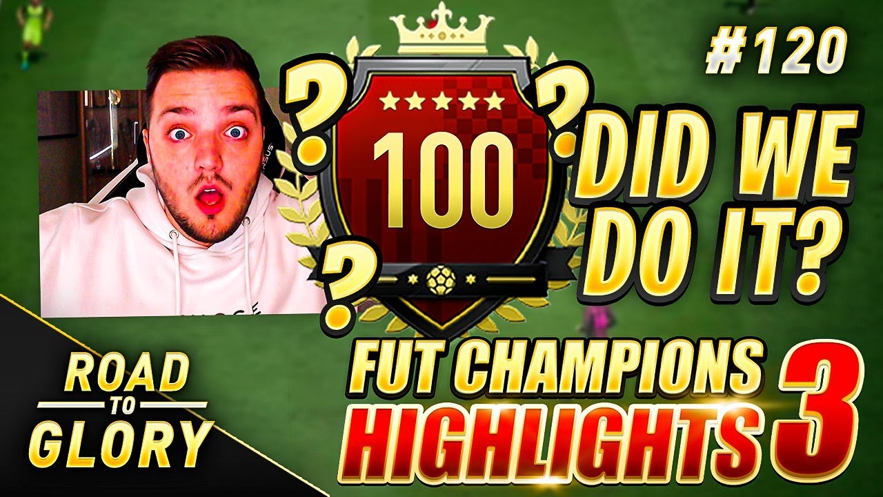DID WE DO IT?! FUT CHAMPIONS ON THE ROAD TO GLORY! FIFA 20 ULTIMATE TEAM #120