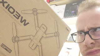 MJX X103W! Drone Economico con Radiocomando MAVIC Style! - Recensione ITA