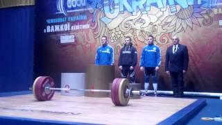 Церемония награждения кат. 69 кг. - Гришин Тарас
