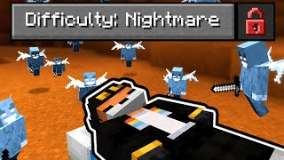 "So I made a ""nightmare"" Difficulty in Minecraft..."