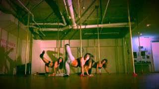 Normal speed Frou Frou sexy pole choreo by Maddie Sparkle