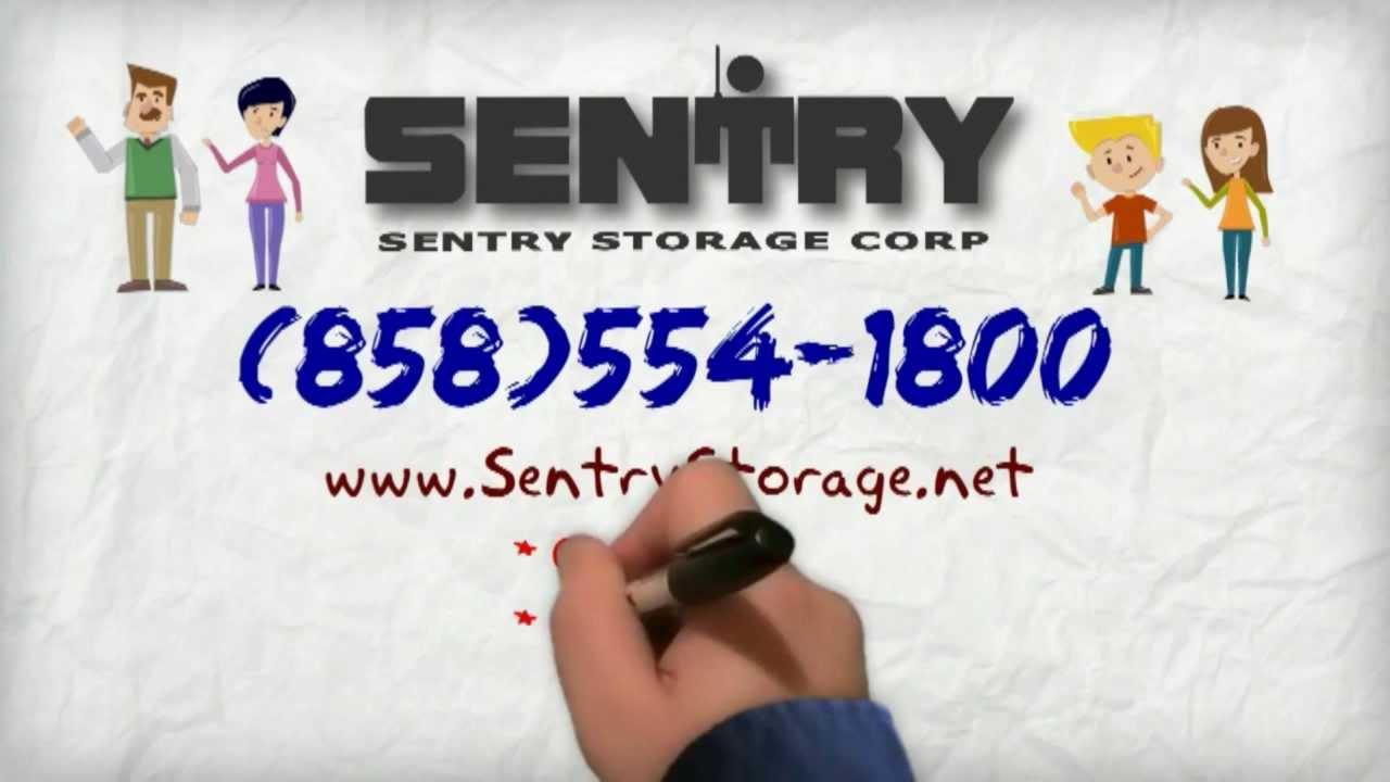 Sentry Storage Solutions San Go Ca 858 554 1800