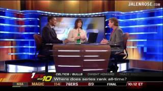 ESPN First Take - NBA Finals Game 5 Part 2 - Mark Cuban Busts on Skip Bayless
