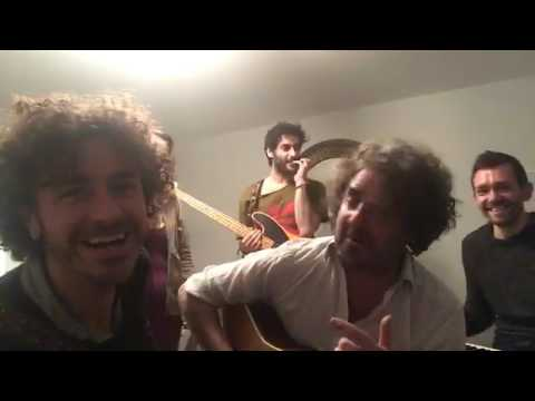 """Ian Prowse & Amsterdam Rehearsals for """"Fireworks Tour"""" 29/01/2017"""