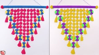 Easy !! DIY ROOM DECOR  !!! Wall Hanging Making at Home