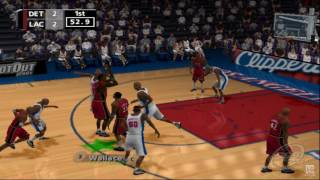 NBA ShootOut 2001 PS2 Gameplay HD