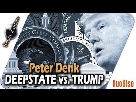Deep State vs. Trump - Die Masken Fallen - Peter Denk bei SteinZeit