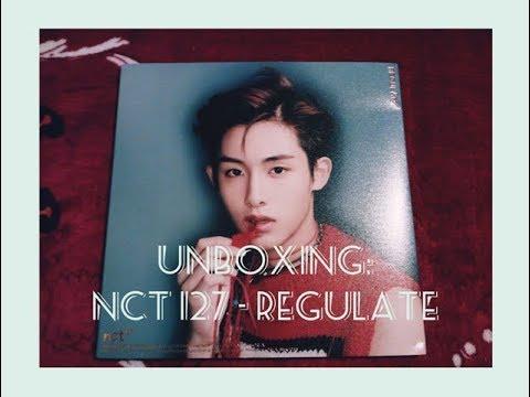 Unboxing: NCT 127 Vol. 1 - NCT #127 REGULATE (Winwin Ver.)