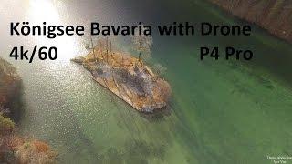 Königssee Bavaria Drone View 4k DJI Phantom 4
