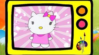 Как нарисовать Хелло Китти. Оживающие рисунки / How to draw Hallo Kitty. Наше всё!(В этот раз мы нарисуем Хелло Китти, любимую кошечку девочек-красавиц! А в конце видео Китти оживет! Плейлист..., 2016-08-17T14:00:00.000Z)