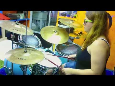 "Everything Everything ""Schoolin' "" Drum Cover"