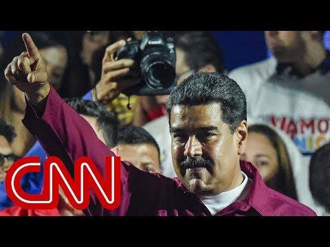 Nicolas Maduro declared winner of Venezuela election