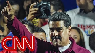 Nicolas Maduro declared winner of Venezuela election