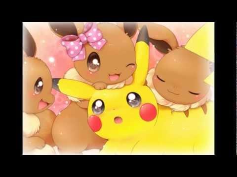Pikachu x Eevee Kiss You