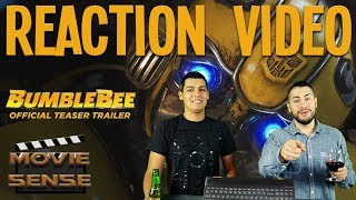 Bumblebee (2018) Trailer Reaction -  Movie Sense Reaction Video