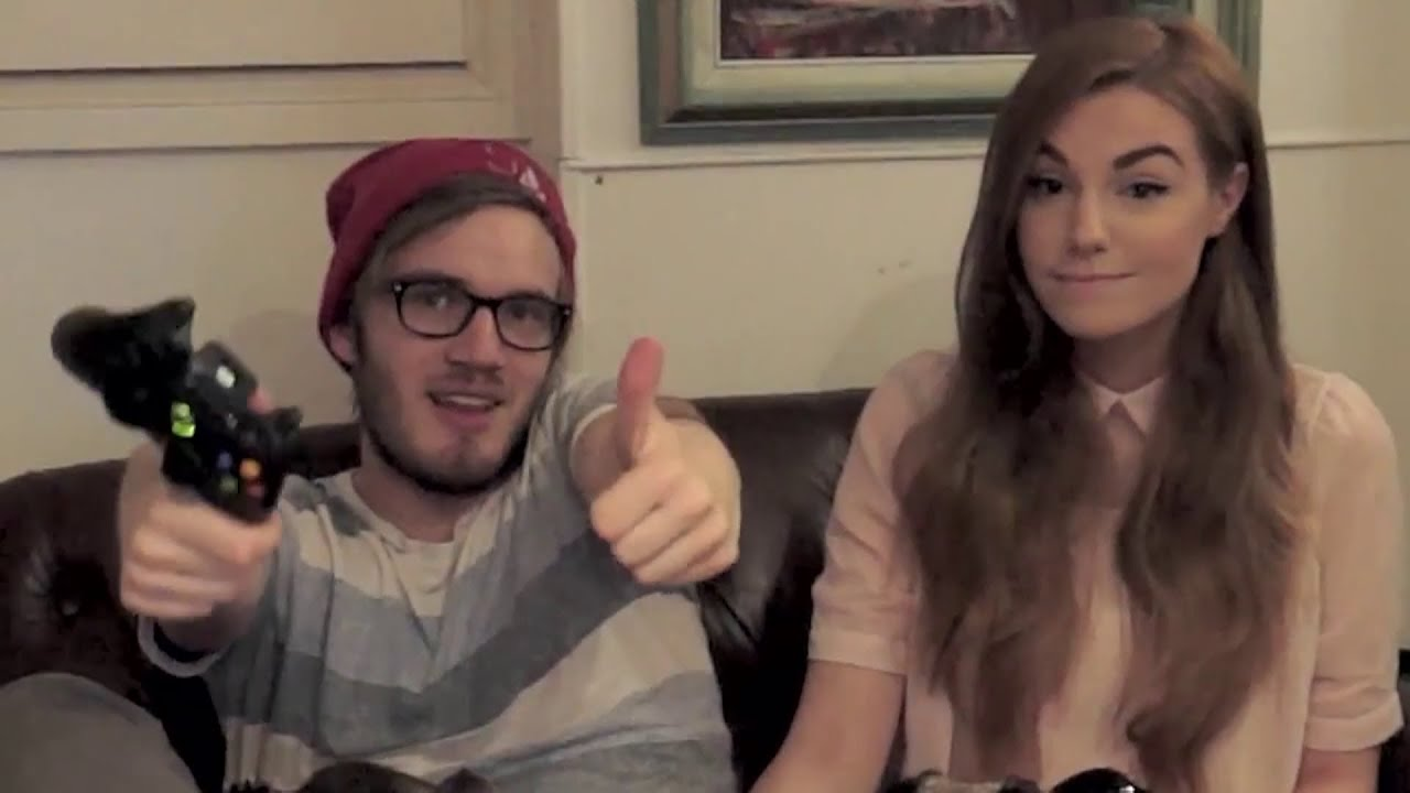 Pewdiepie And Marzia 2014
