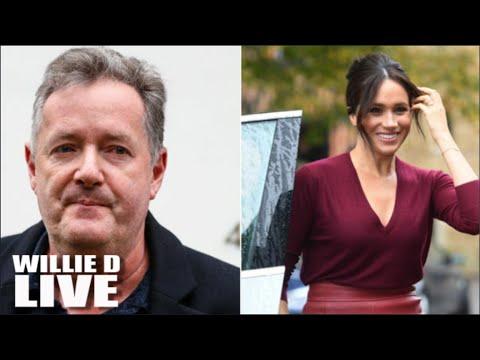 Got'em!!! Piers Morgan Over Meghan Markle Comments!