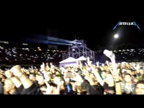 Enter Sandman / Despedida  - Metallica en Guatemala - DVD HD