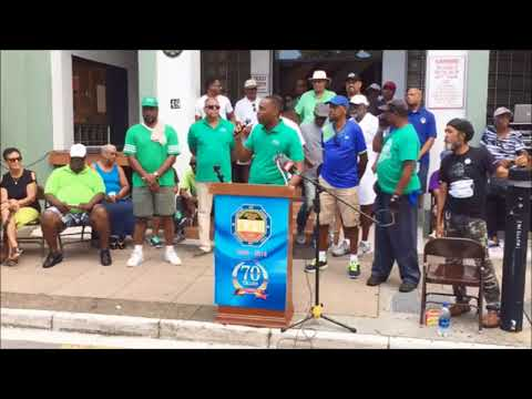 Premier David Burt at Labour Day, Sept 4 2017