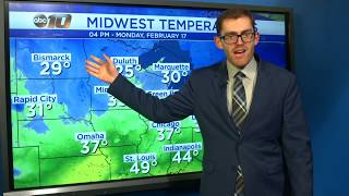 Upper Peninsula Weather Forecast - Feb. 17, 2020