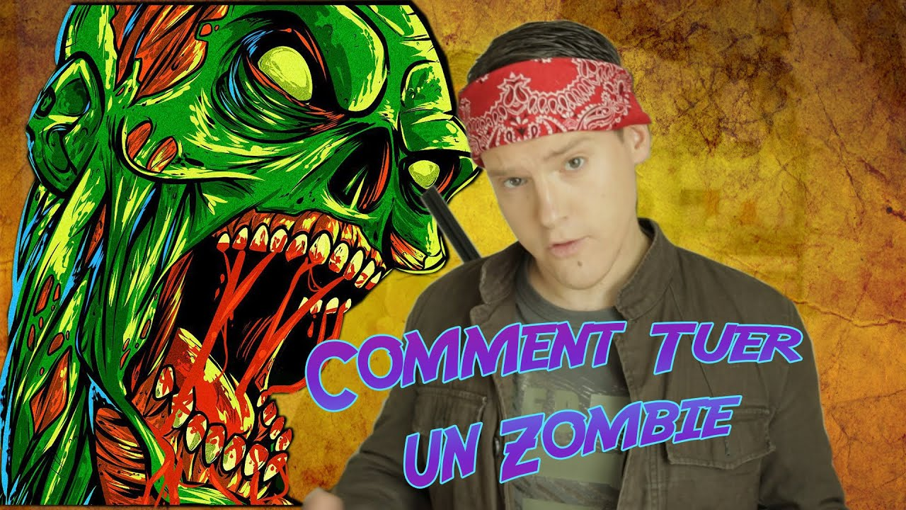 comment tuer un zombie walking dead tutopulp youtube. Black Bedroom Furniture Sets. Home Design Ideas