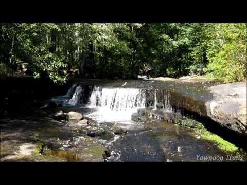 Stepstone Falls in West Greenwich, RI