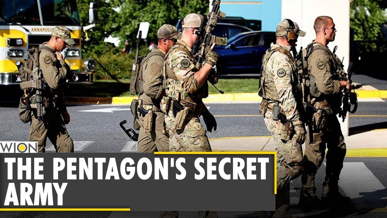 The Pentagon's Secret Army: Pentagon operates 60,000-strong secret force   Latest English News - YouTube