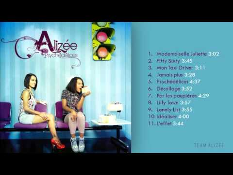 Alizée  Psychédélices Full Album HD