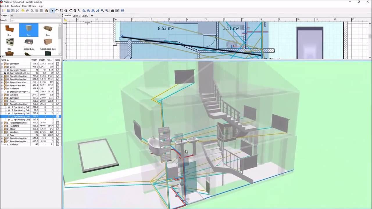 home plumbing diagram [ 1280 x 720 Pixel ]