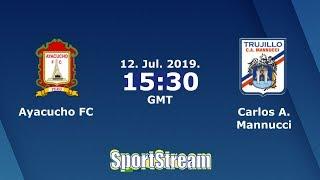 ⚽ Ayacucho FC vs Carlos Mannucci ⚽ Liga 1 Clausura Peru Cup 2019 | 😱SIMULACIÓN🎮
