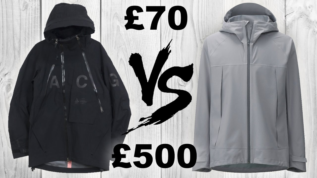 36beef4b5 Techwear Jacket SHOWDOWN: Nike ACG VS Uniqlo