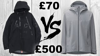 Techwear Jacket SHOWDOWN: Nike ACG VS Uniqlo