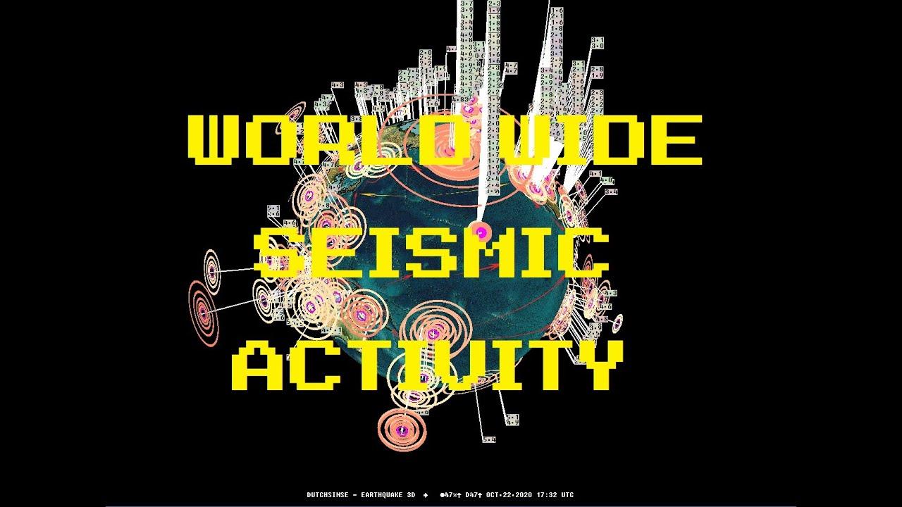 MIRROR: 10/22/2020 -- West Coast USA Volcanoes + Earthquake activity increase -- M3.0+ spreads acros